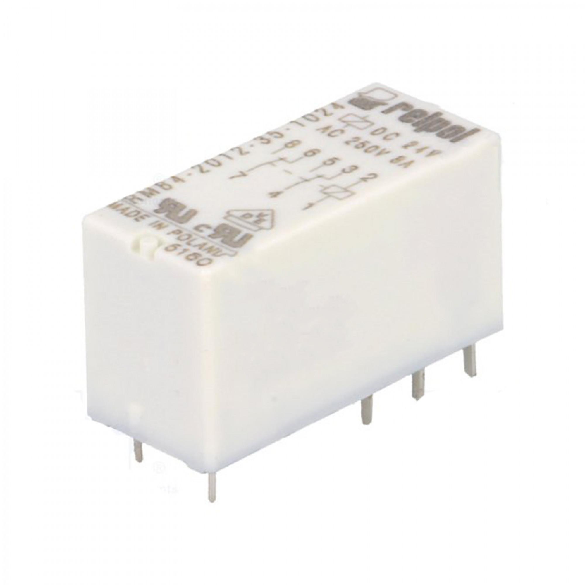 RM84-2012-35-1024 1 un 8A//250... Relé: electromagnético; Interruptor DPDT; Ucoil: 24VDC