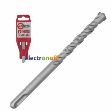 Бур SDS PLUS S4 24 x 1000 мм SD-24100 Intertool