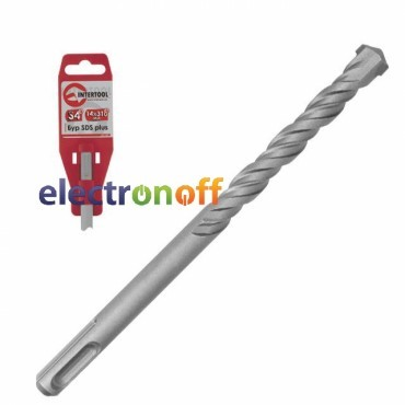 Бур SDS PLUS S4 8 x 110мм SD-0811 Intertool