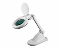 Лампа лупа Magnifier Compact LED, 3+12 диоптрий, 90 мм диаметр