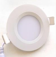 Светодиодный светильник Down Light 12W с каемкой Warm white