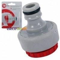 Адаптер универсальный для конектора 1/2 дюйма с внутренней резьбой 1/2 дюйма  на  3/4 GE-1110 Intertool