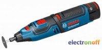 Многофункциональный инструмент Bosch GRO 10.8 V-LI Professional (L-BOXX)
