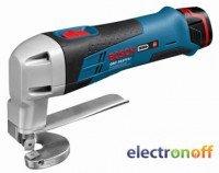 Аккумуляторные ножницы по металлу Bosch GSC 10.8 V-LI Professional (L-BOXX)