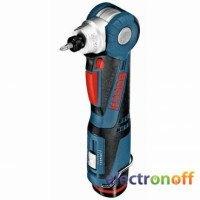 Аккумуляторный угловой шуруповерт Bosch GWI 10.8 V-LI Professional (L-BOXX)