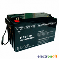 Аккумулятор Forte CG12V100DG 100Ah гелевый