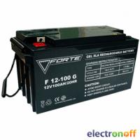 Аккумулятор Forte F12-100G 100Ah гелевый + клемма