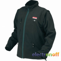 Аккумуляторная куртка с подогревом Makita DCJ200ZL