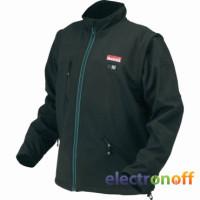 Аккумуляторная куртка с подогревом Makita DCJ200ZXL