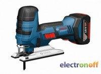 Аккумуляторный лобзик Bosch GST 18 V-LI S Professional (L-BOXX)