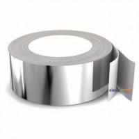 Алюминиевая фольга на клейкой основе ширина 50мм х 40м