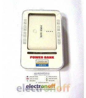 Автономное зарядное устройство POWER BANK JLW-218 12000mAh