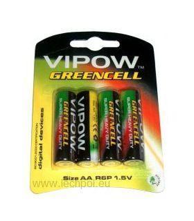 Батарея GREENCELL R6 4шт/блистер
