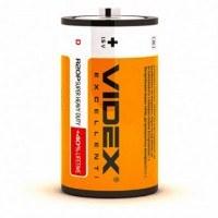 Батарейка солевая Videx R20P/D 2pcs SHRINK