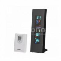 Метеостанция беспроводная с дистанционным датчиком температуры и влажности, цветной VFD экран KEMOT
