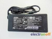 Блок питания 24V 3A кабельный