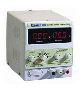 Блок питания цифровой TXN-1502D (0...15V, 0...2A)