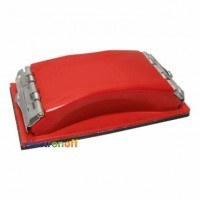 Брусок для шлифования 100 x 210 мм, металлический зажим для быстрой и надежной фиксации HT-0002 Intertool
