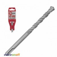 Бур SDS PLUS S4 6 x 210 мм SD-0621 Intertool