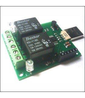 Цифровой USB термометр/термостат MP707R