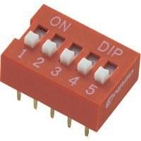 DIP переключатель, 6 секций (DS-06)