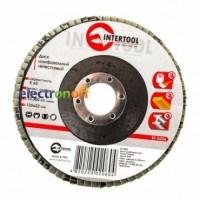 Диск шлифовальный лепестковый 125 x 22 мм, зерно K60 BT-0206 Intertool