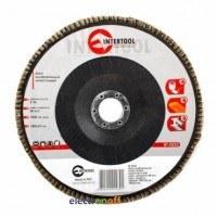 Диск шлифовальный лепестковый 180 x 22 мм зерно K36 BT-0223 Intertool