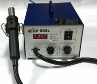 Паяльная станция DN 852L с термофеном и цифровым дисплеем