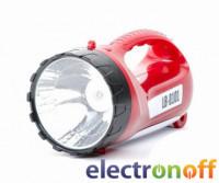 Фонарь аккумуляторный 19 LED+15 LED LB-0101 Intertool