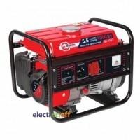 Генератор бензиновый мощность 1.2/1.1 кВт 3.0 л с 4-х тактный ручной пуск 26.5 кг DT-1111 Intertool