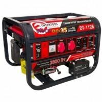 Генератор бензиновый мощность 3.1/2.8 кВт 6.5 л с 4-х тактный электрический и ручной пуск 51.7 кг DT-1128 Intertool