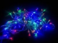 Гирлянда-нить 5м 100 led с контроллером многоцветная