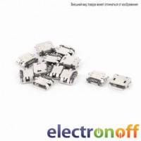 Гнездо micro USB тип 8