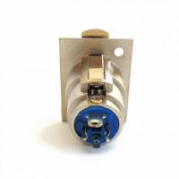 Гнездо XLR кабельное 3pin с пластиковой пружиной CANON_вид сзади