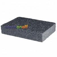 Губка для шлифования 100 x 70 x 25 мм, оксид алюминия К120 HT-0912 Intertool