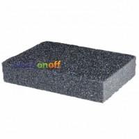 Губка для шлифования 100 x 70 x 25 мм, оксид алюминия К80 HT-0908 Intertool