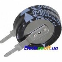 Ионистор 0.22F 5.5V d15 h5