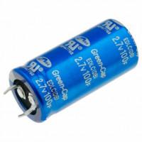 Ионистор 100F 2.7V d22 h47, Snap in