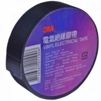 Изолента электротехническая 0.13мм х 19мм, черная 3M (20м)