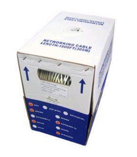 Кабель FTP 5-Е Solid (4x2x(0,5CU), диам-5,8mm, серый, 305м