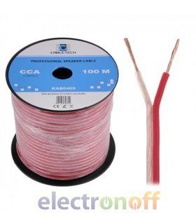 Кабель колоночный CCA 0.50mm Cabletech extra flexible (бухта 100м)