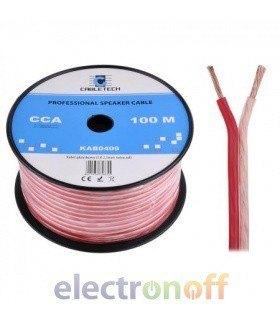 Кабель колоночный CCA 2.5mm Cabletech extra soft (бухта 100м)