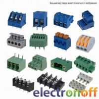Клеммник KLS 2х-контактный, шаг-5мм (KLS2-301-5.00-02P-2S)