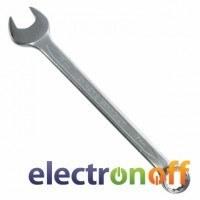 Ключ комбинированный PROF DIN3113 XT-1013 Intertool 13 мм Cr-V покрытие сатин-хром