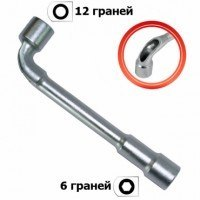 Ключ торцовый с отверстием L-образный 27 мм HT-1627 Intertool