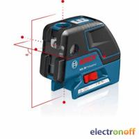 Комбинированный лазерный нивелир Bosch GCL 25 + BM1 в L-Boxx 136 Professional