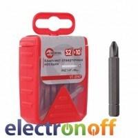 Комплект отверточных насадок PH2 1/4 дюйма x 50мм VT-594725 Intertool