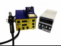Комплект: паяльная станция BAKU 702L с лабораторным блоком питания LIANGXUN PS-305DM