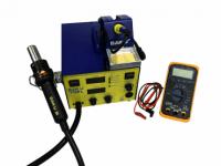 Комплект: паяльная станция конвекционная BAKU 702L и мультиметр DT 420A