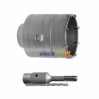 Комплект SD-7105 Intertool сверло корончатое по бетону 105 мм + переходник SDS Plus 100 мм